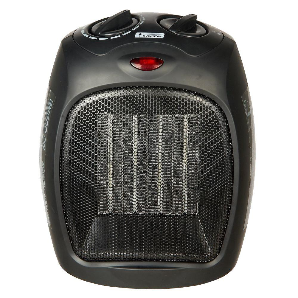 1,500-Watt Convection Electric Portable Heater and Fan-732906 - The Home Depot