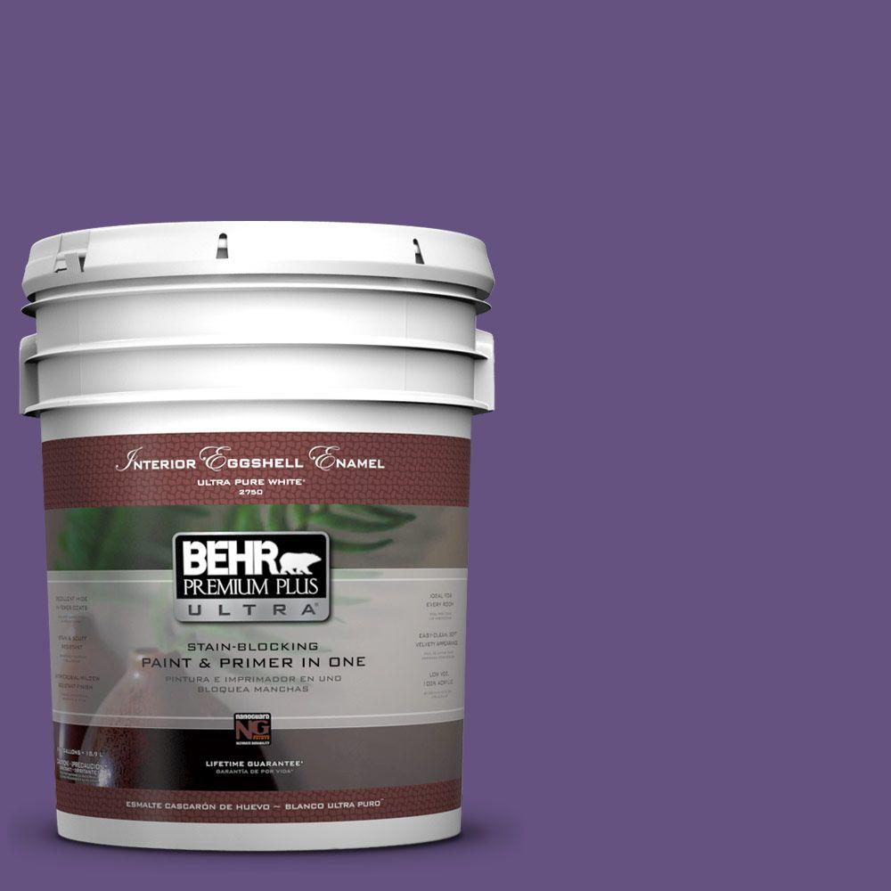 BEHR Premium Plus Ultra Home Decorators Collection 5-gal. #hdc-MD-25 Virtual Violet Eggshell Enamel Interior Paint