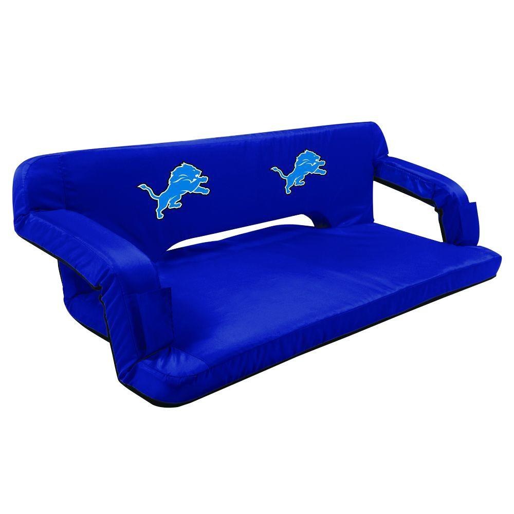 Picnic Time Detroit Lions Navy Reflex Travel Couch