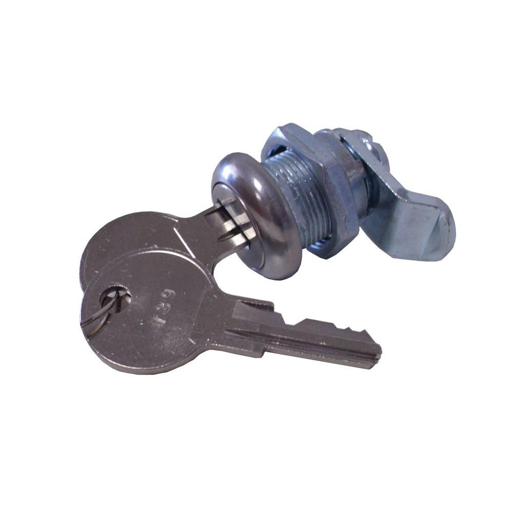 Architectural Mailboxes 5-Pin Cam Lock for Lunada, Metropolis, Peninsula, and Soho Series Mailboxes-DISCONTINUED
