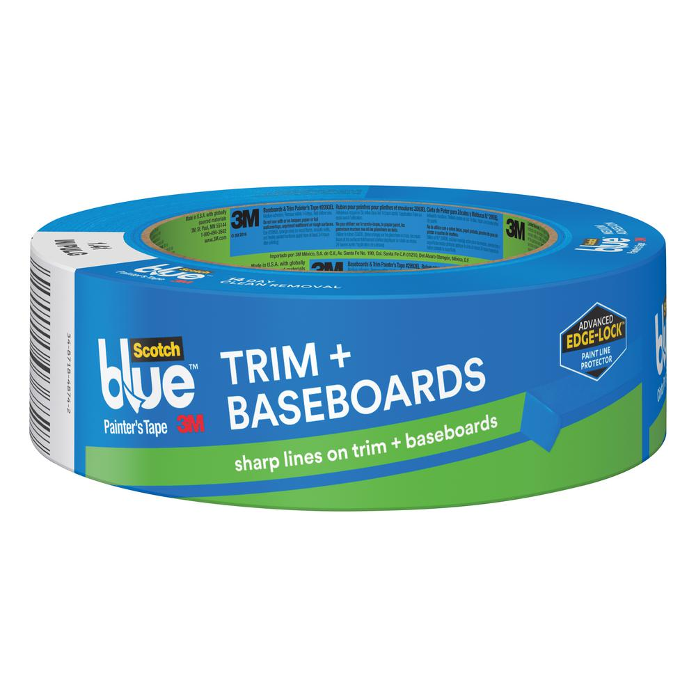 1.41 in. x 60 yds. Trim and Baseboards Painter's Tape with