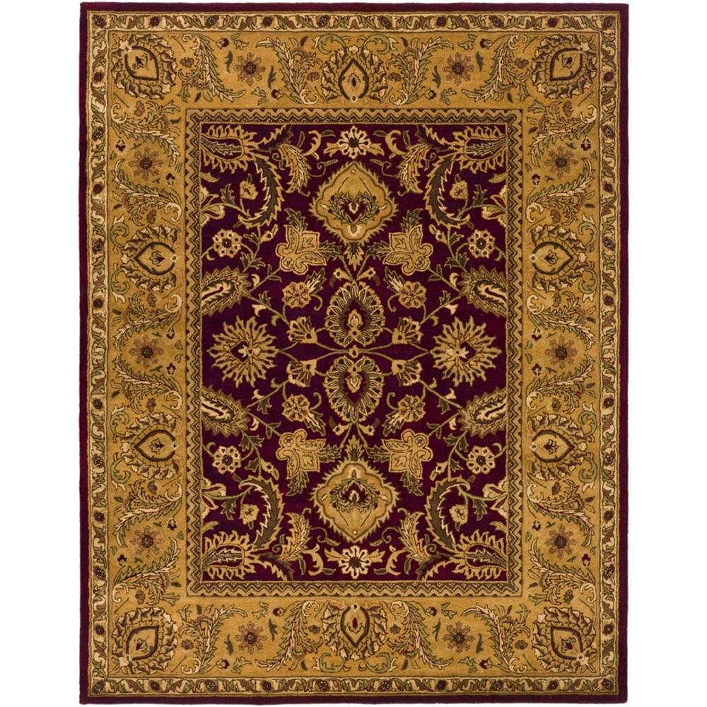 Classic Burgundy/Gold (Red/Gold) 8 ft. 3 in. x 11 ft. Area Rug -  Safavieh, CL244A-9