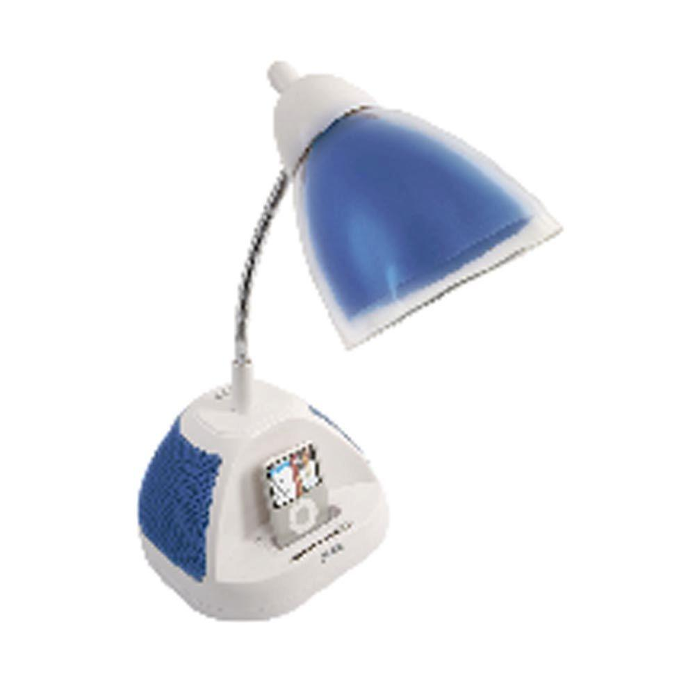 iHome 18 in. Blue Colortunes iPod Lamp-DISCONTINUED