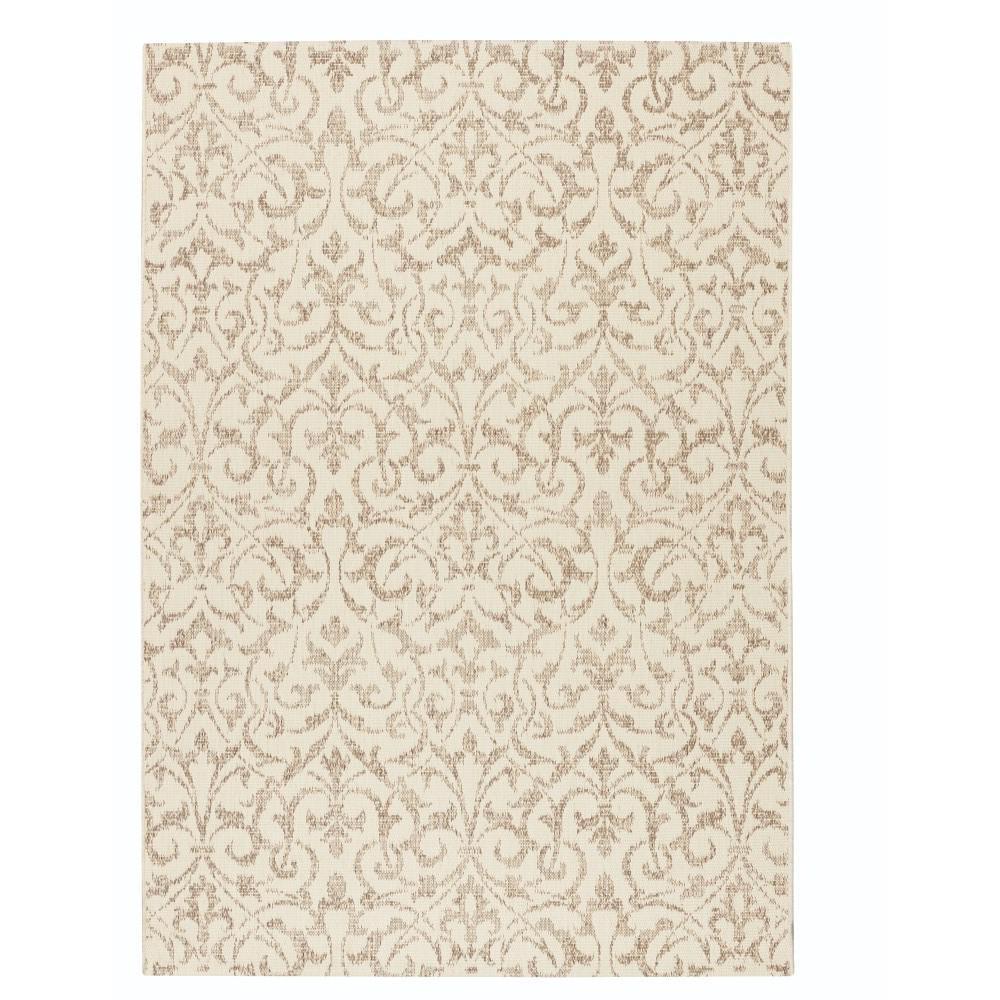 Bermuda Champagne/Taupe 5 ft. 10 in. x 9 ft. 2 in.
