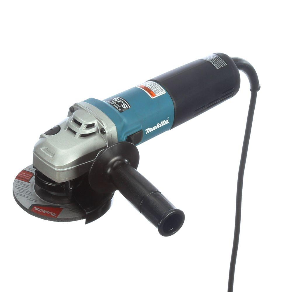 Makita 12 Amp 4-1/2 in. SJS High-Power Angle Grinder