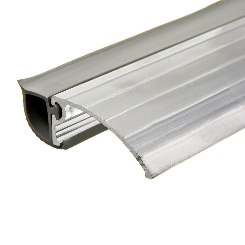 Frost king e o 1 1 4 in x 36 in aluminum silver bumper for Aluminum doors home depot