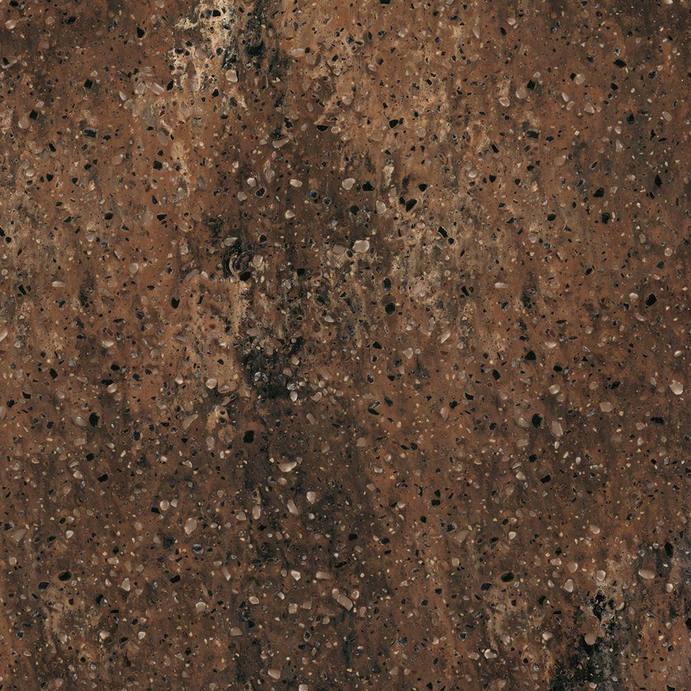 2 in. Corian Solid Surface Countertop Sample in Allspice-C930-15202JJ - The