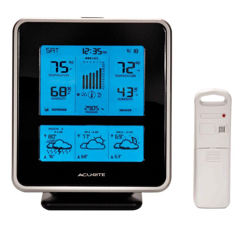 AcuRite Weather Gauges & Instruments Digital Weather Station with Precision Forecasting 02010