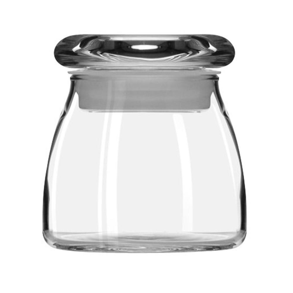 Libbey Vibe 4-1/2 oz. Spice Jar with Lid in Clear (Set of 12)