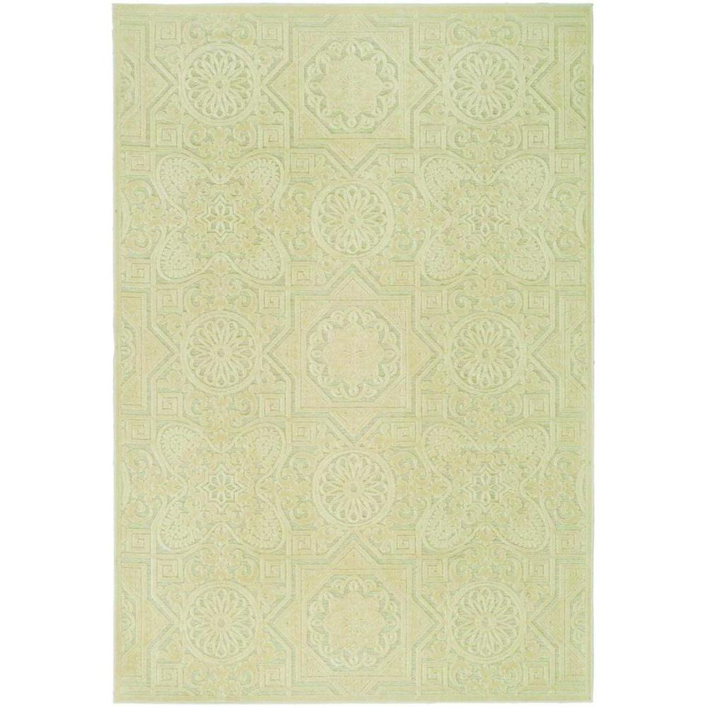 Martha Stewart Living Wayfarer Cream 4 ft. x 5 ft. 7 in. Area Rug