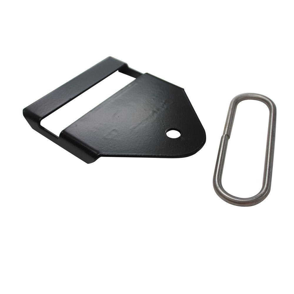 CenFlex Black End Termination Bracket-385444 - The Home Depot