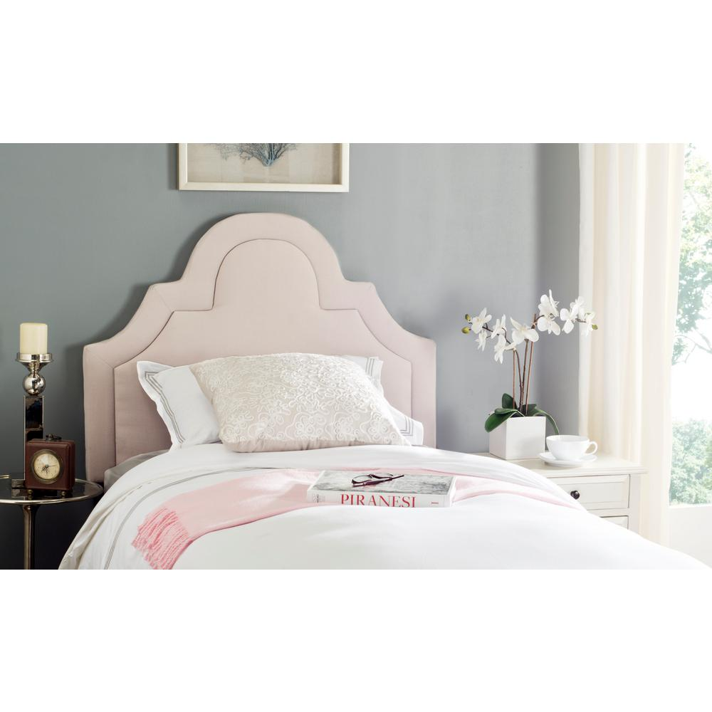 Kerstin Taupe (Brown) Arched Full Headboard in Taupe