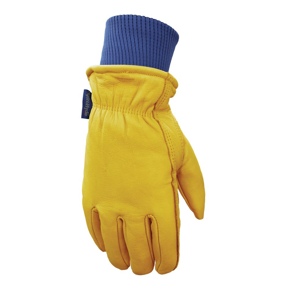 Men's HydraHyde, Insulated Grain Cowhide Leather Work Gloves, Extra-Large