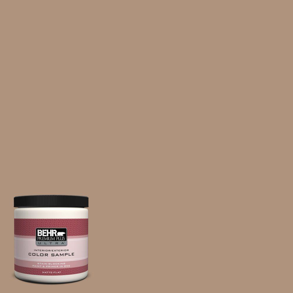 8 oz. #PPU4-4 Soft Chamois Interior/Exterior Paint Sample