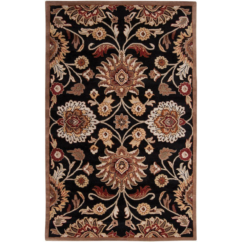 Artes Maroon 5 ft. x 8 ft. Area Rug