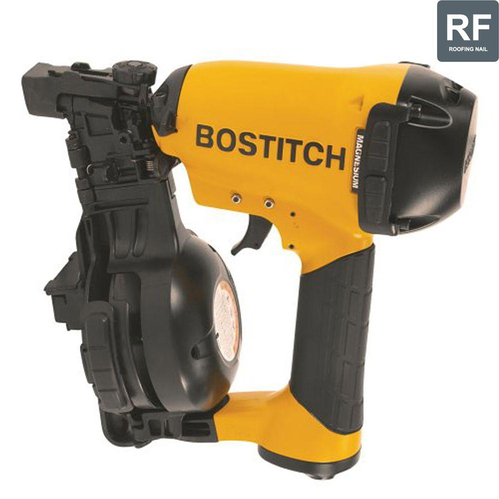 Bostitch 1-3/4 in. 15 Degree Coil Roofing Nailer-RN46-1 - The Home