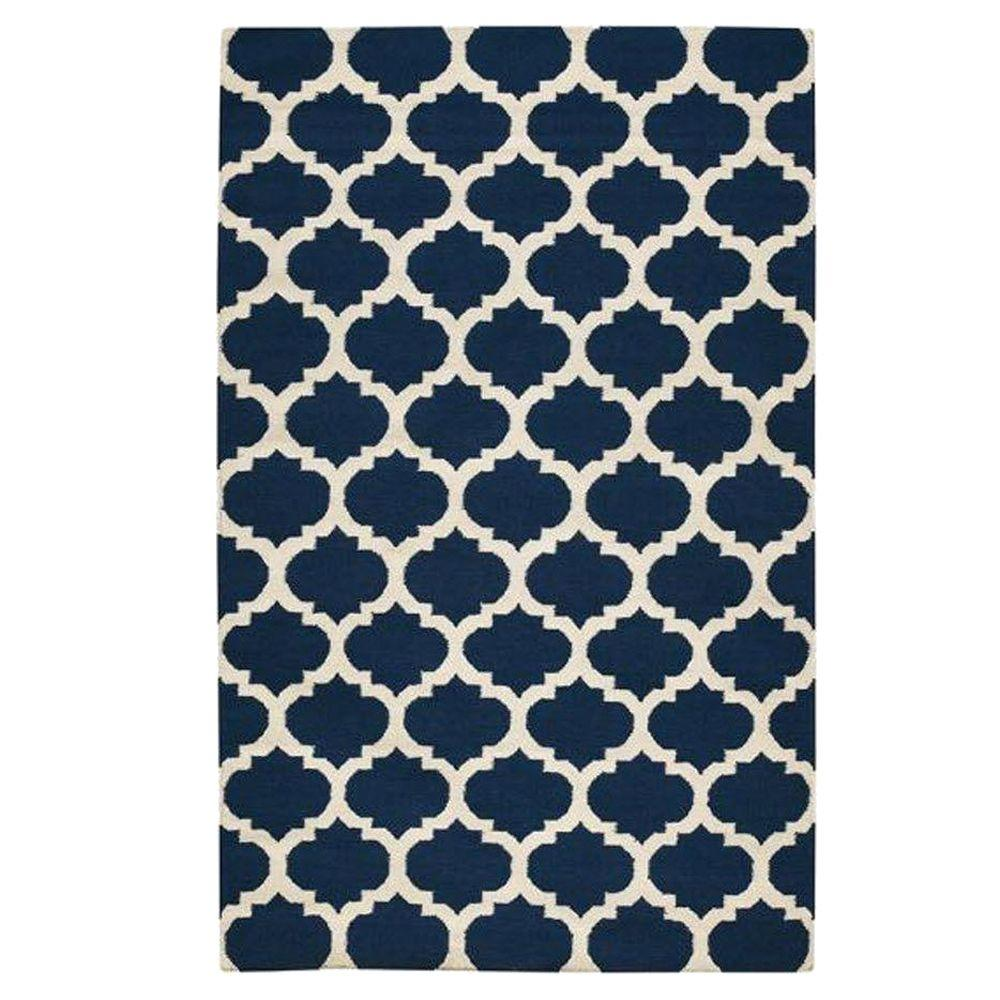 Allure Navy 2 ft. x 6 ft. Area Rug