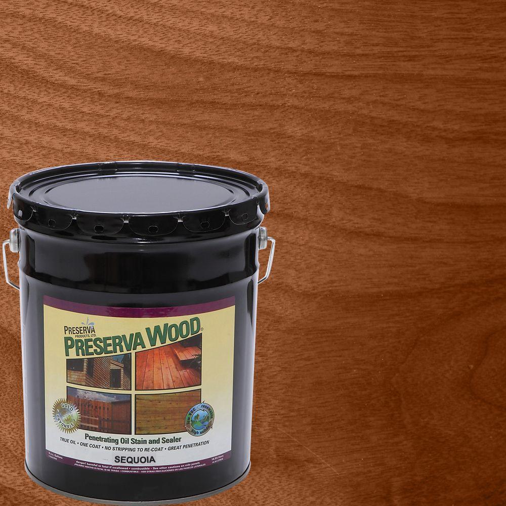 5 gal. Sequoia Oil-Based Penetrating Stain and Sealer