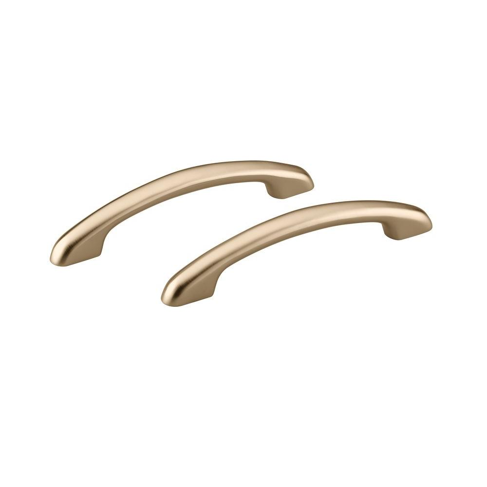 Waterscape Hand Grip Rails in Vibrant Brushed Bronze