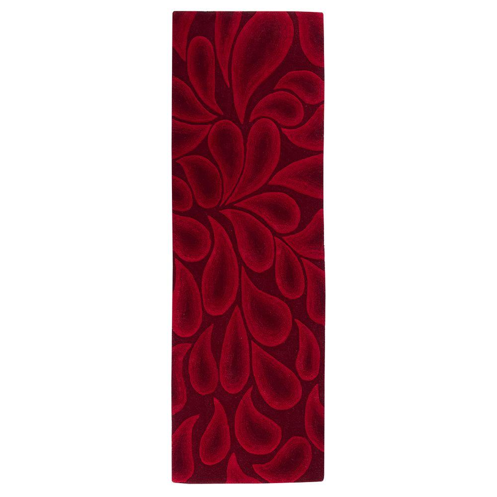 Home Decorators Collection Shadow Red 2 ft. 6 in. x 8 ft. Runner