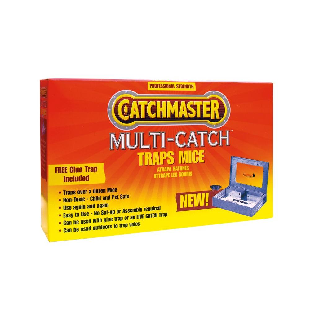 Multi-Catch Metal Mouse Trap