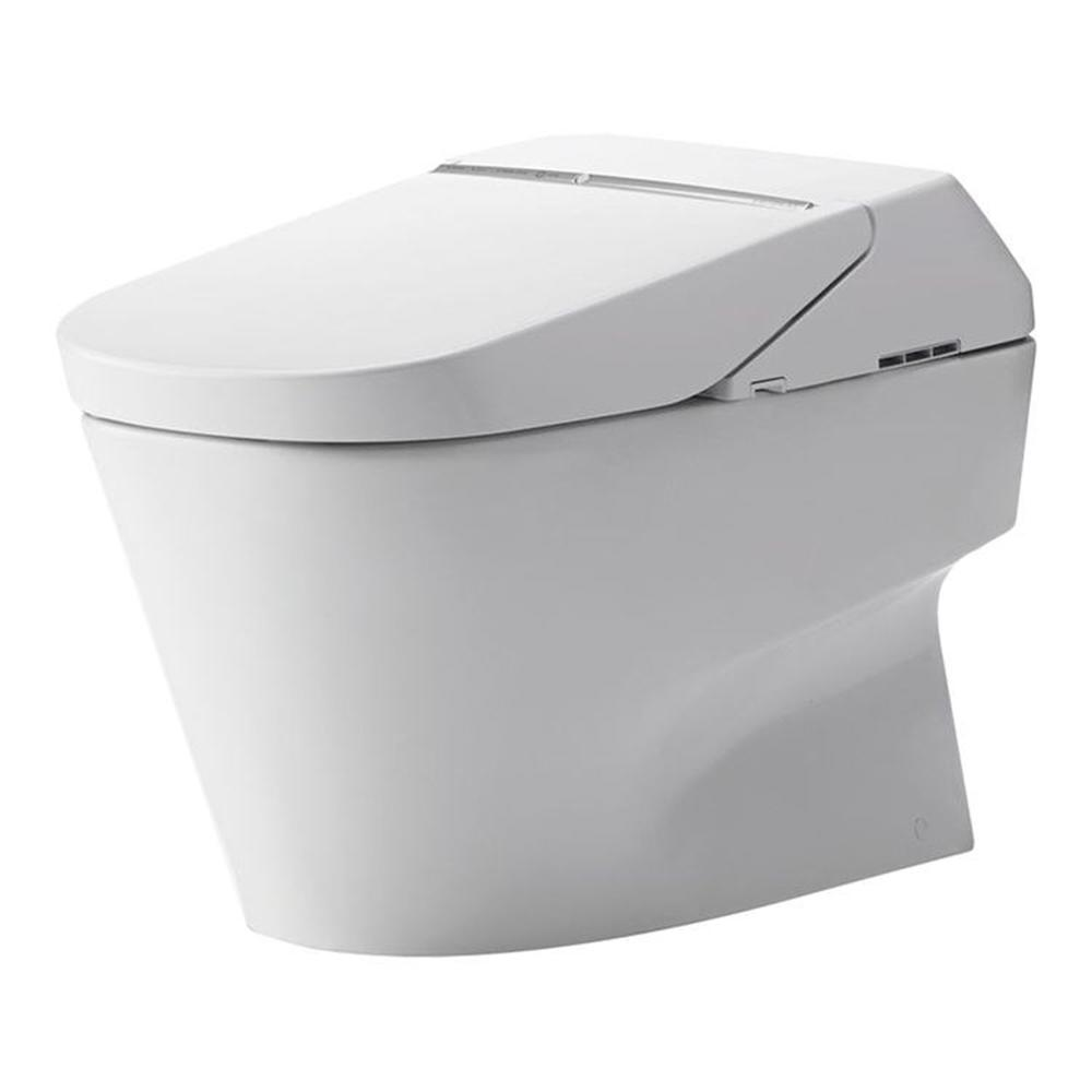 Neorest 2-Piece 1.0 GPF Dual Flush Elongated Toilet in Cotton White