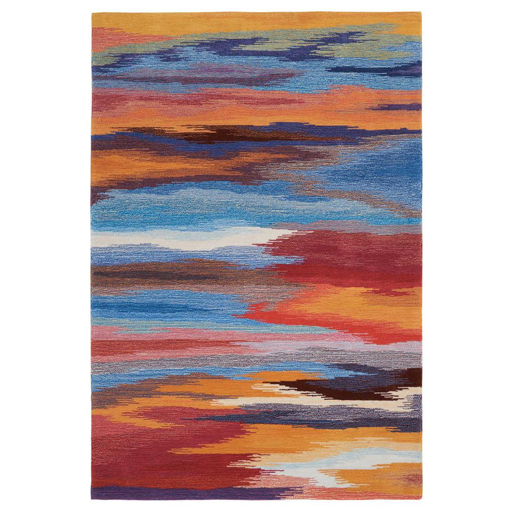 Contour Sunset 7 ft. 3 in. x 9 ft. 3 in.