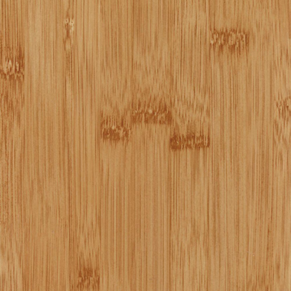 TrafficMASTER Bamboo Dark Resilient Vinyl Plank Flooring - 4 in. x 4 in. Take Home Sample