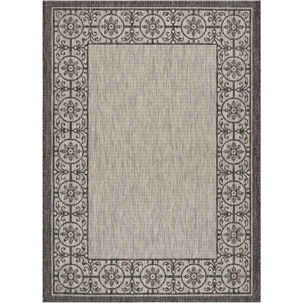 Country Side Ivory/Charcoal 5 ft. 3 in. x 7 ft. 3