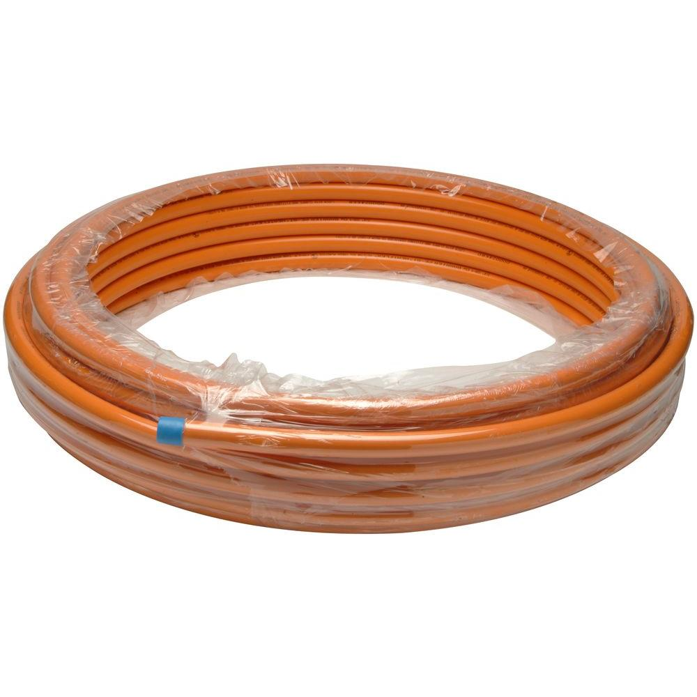 3/4 in. x 100 ft. Flexible Oxy Barrier Tubing, Orange