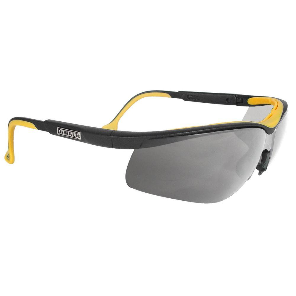 Safety Glasses DC with Silver Mirror Lens