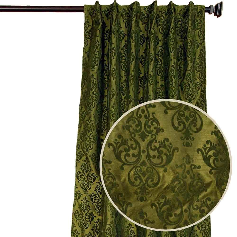 Home Decorators Collection Pari Moss Back Tab Curtain