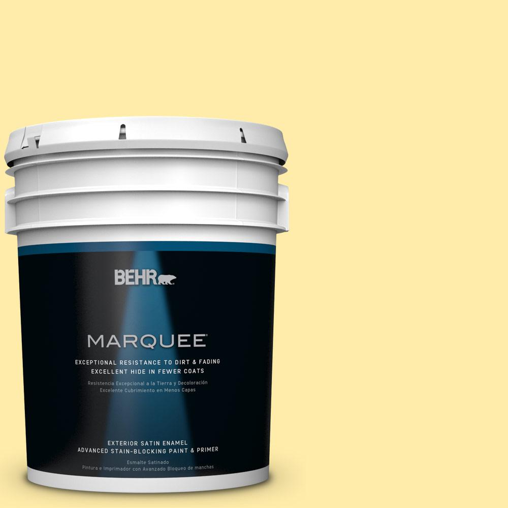BEHR MARQUEE 5-gal. #P300-3 Rite of Spring Satin Enamel Exterior Paint-945405