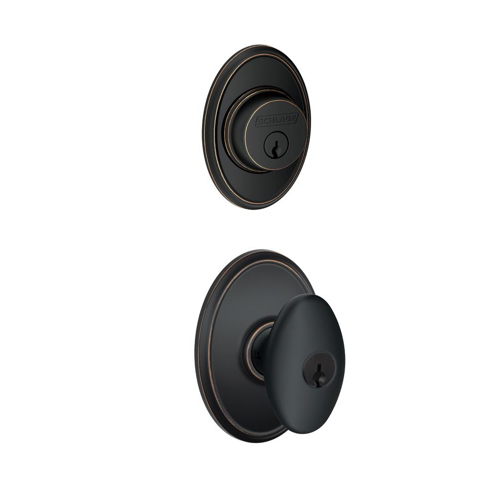 Door knob with deadbolt built in | Hardware | Compare Prices at Nextag