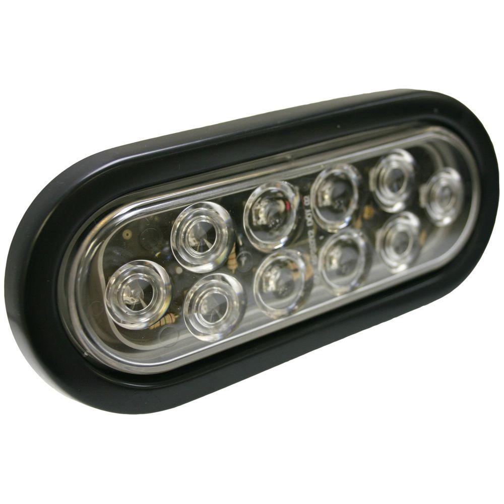 Blazer International 6 in. LED Oval Stop/Turn/Tail Light-C562CRTM - The Home