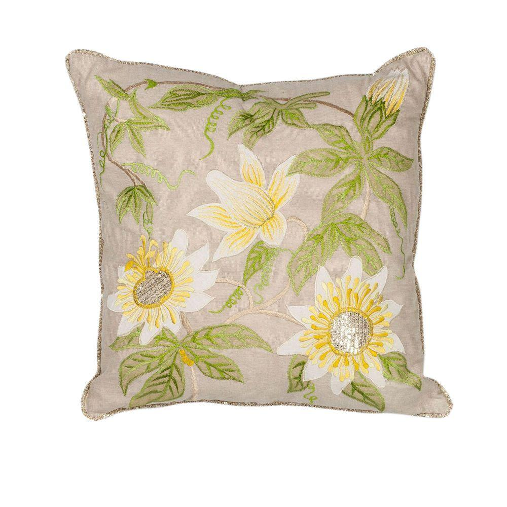 Bermuda Taupe Decorative Pillow