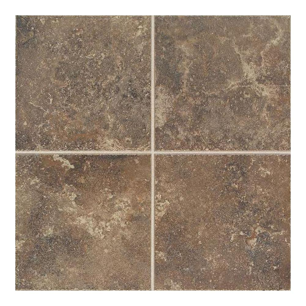 Daltile Castle De Verre Regal Rouge 13 in. x 13 in. Porcelain Floor and Wall Tile (16.72 sq. ft. / case)-DISCONTINUED