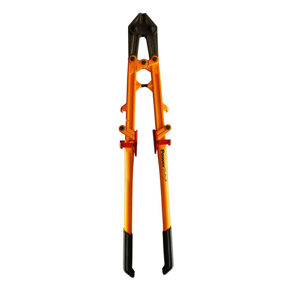 42 in. POWER-GRIP Bolt Cutter with Foldable Handles