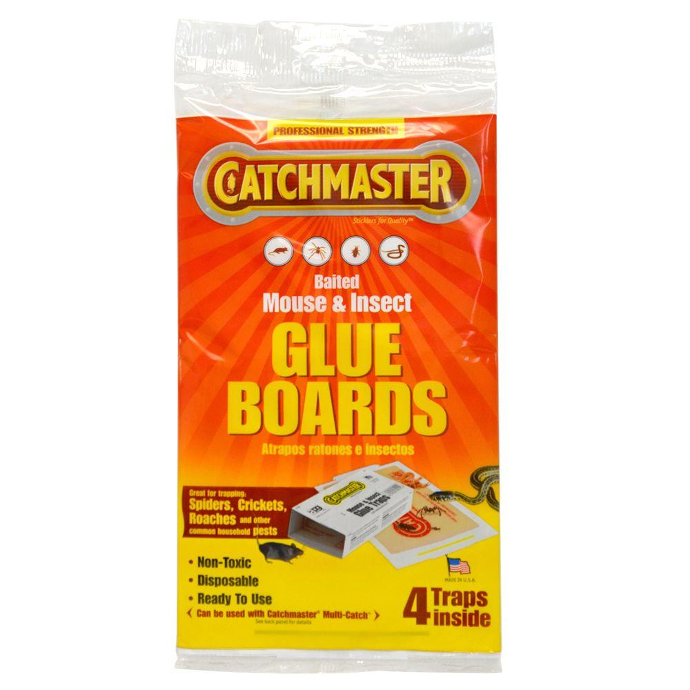 4-Pack Baited Mouse & Insect Glue Boards (Case of 18)