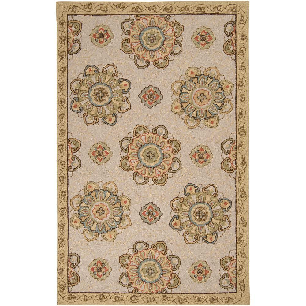 Palacio Ivory 2 ft. x 3 ft. Accent Rug