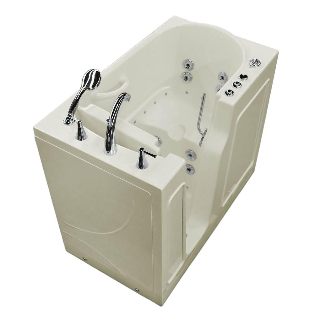 Universal Tubs Nova Heated 3.9 ft. Walk-In Air and Whirlpool Jetted