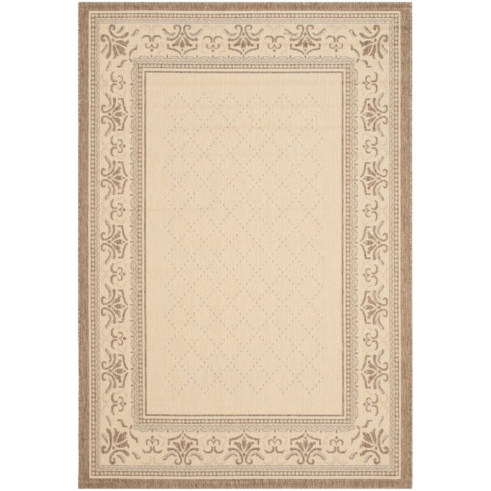 Safavieh Courtyard Natural/Brown 5 ft. 3 in. x 7 ft. 7