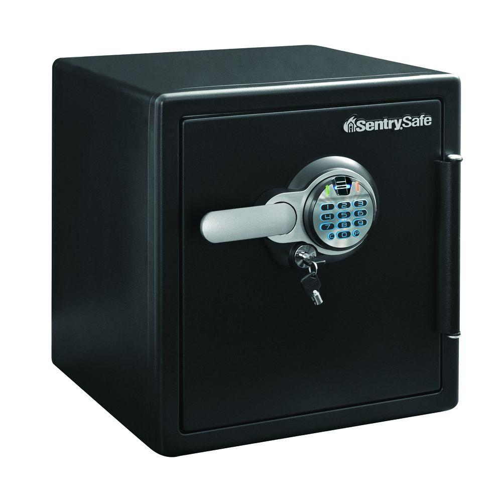 1.23 cu. ft. Steel Fire and Water Resistant with Fingerprint and