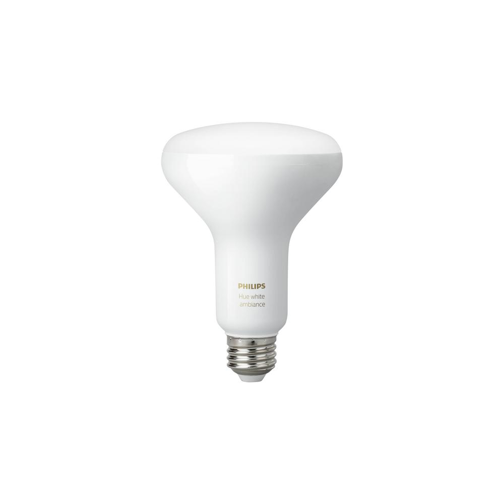 60W Equivalent Hue White Ambiance BR30 LED Light Bulb