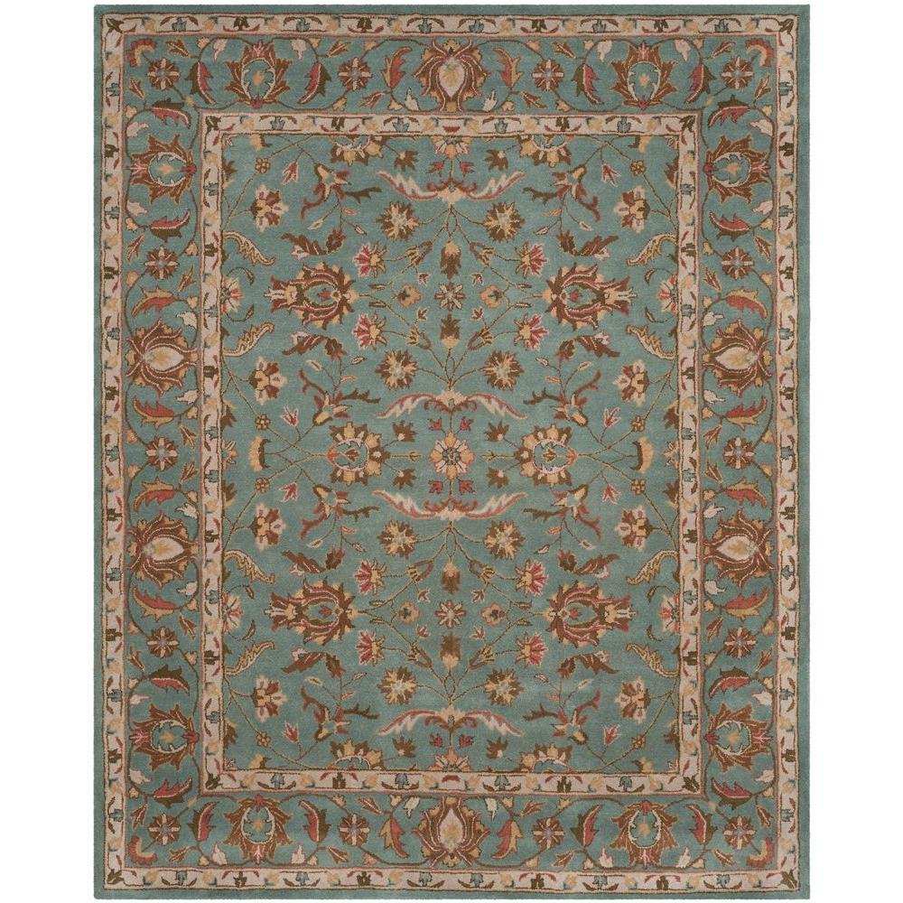 Home Decorators Collection Old London Terra/Blue 8 Ft. 3