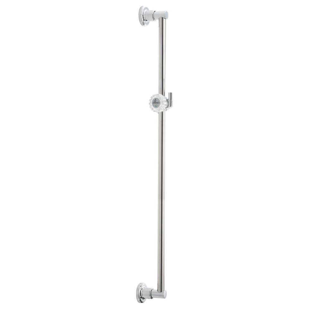 Delta 30 in. Adjustable Pin Mount Wall Bar in Chrome