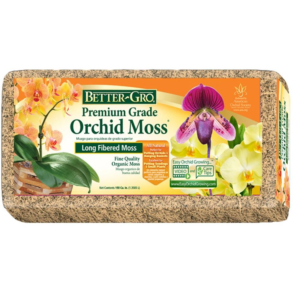 Better-Gro 190 cu. in. Orchid Moss