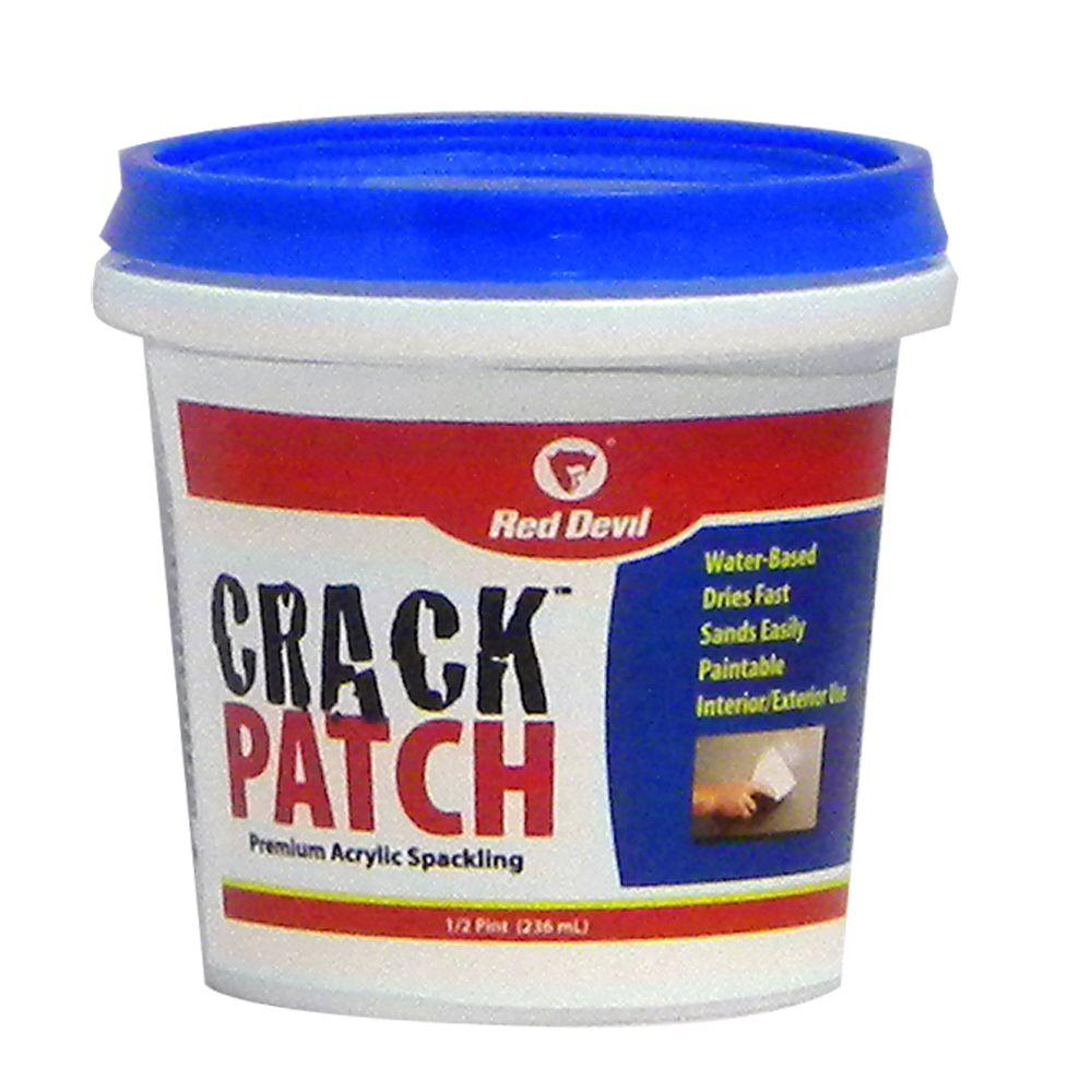 Crack Patch 8 oz. Premium Acrylic Spackling-0802 - The Home Depot