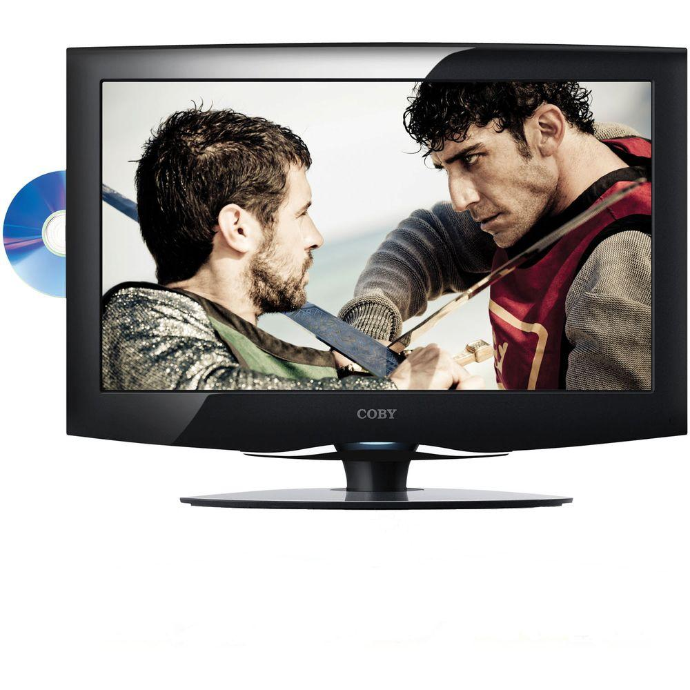 Coby 19 in. Class LED 720p 60Hz HDTV with Built-in DVD Player-DISCONTINUED