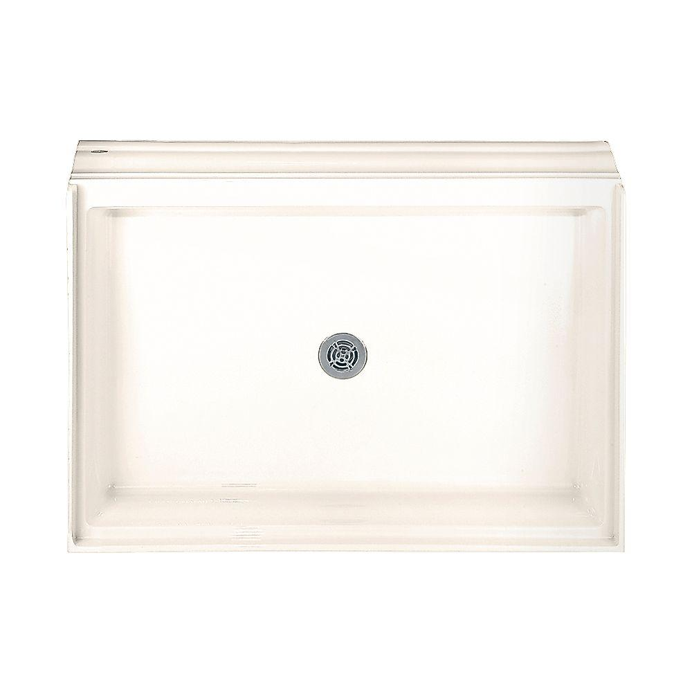 American Standard Acrylic 60-1/8 in. x 34-1/8 in. Single Threshold Shower Base in Linen